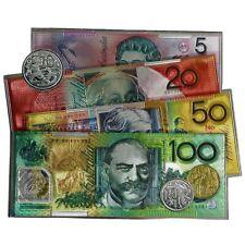Australian Souvenir Australia Money Notes Coins Rubber Foil Fridge Magnet Large