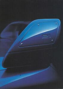 brochure folder 1999 SUBARU IMPREZA P1 !!! _________ english text ______________