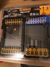 DeWalt 29 Piece Impact Torsion Screwdriver Bit Set Dt70501bt