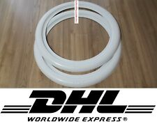 """White Wall ''13"""" 14"""" and 15'' ATLAS 2'' New! Car Tire insert Trim 2 pcs spare.."""