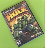 The Incredible Hulk: Ultimate Destruction - Playstation 2 PS2 Game - Disc Only