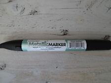 Feutre marqueur alcohol vert / green 432072 Metallic Marker de LETRASET NEUF