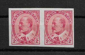 Kanada, 1903, König Edward VII, 2c karmin, Type I, ungezähnt (Scott 90c),(*)