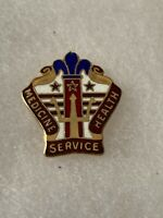 Authentic US Army MEDDAC Ft Lee Kenner Hospital DI DUI Unit Crest Insignia G23
