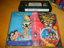 Vhs *ALADIN : THE RETURN OF JAFAR* Walt Disney Video Premier Issue! - Not a Dvd!
