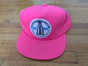 VINTAGE DEADSTOCK 1990 BOSTON BRUINS STANLEY CUP BASEBALL CAP HAT 90s RED SOX