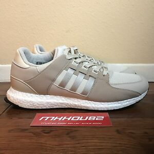 New ADIDAS EQT Support Ultra Boost Shoes Trainers BB1239 Cream White Size 11