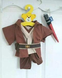 BUILD A BEAR 🌟 Boys Star Wars Jedi Knights  Light Saba Obi Wan Kanobi 2010/11
