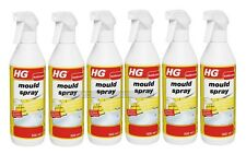 Case of 6 HG Mould Cleaner Spray 500ml Removes all Black and Brown Mould Stains