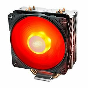 GAMMAXX 400 V2 Red CPU Air Cooler with 4 Heatpipes, 120mm PWM Fan