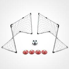 """Voit 2 Goal Soccor Game Set New 4' x 3"""" Goal"""