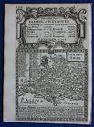 DORSET, DORSETSHIRE, original antique map from 'Britannia Depicta', Bowen, 1759