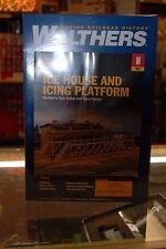 N Scale Walthers Cornerstone 933-3245 * Ice House & Icing Platform kit * NIB