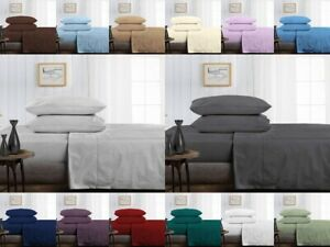 King Size Egyptian Cotton Bedding 1000 TC Egyptian Bed Sheets Easy Deep Pocket