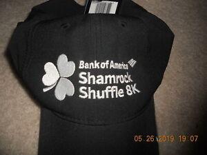 NWT Nike Chicago Shamrock Shuffle 8K Running Hat Cap Dri-Fit Stay Cool Black W@W