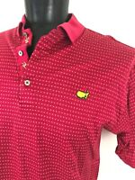 Bobby Jones Collection The Masters  Augusta Golf Trim Polo Shirt Men's L Large