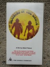 Morning of the Earth a film by Albert Falzon VHS Tape PAL Tested Working - Rare