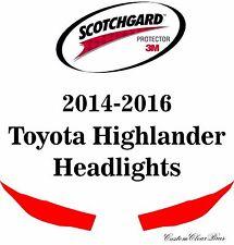 3M Scotchgard Paint Protection Film Clear 2014 2015 2016 Toyota Highlander