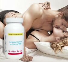 Stallion Power Strong Sex Enhancer Impotence Aid 180 Capsules. SNR Product