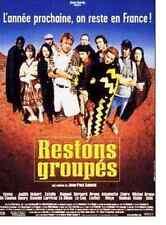Bande annonce cinéma 35mm 1998 RESTONS GROUPES JP Salomé E De Caunes S Le Bihan