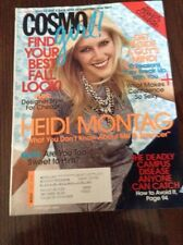 Cosmo Girl Magazine October 2007 Heidi Montag