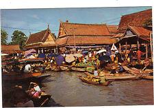 Thaïlande - cpsm - BANGKOK - Le marché flottant