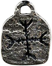 VIKING Celtic PROTECTION RUNE Pewter Runic Amulet Pendant SCA LARP Wicca Pagan