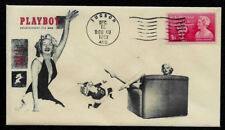 1953 Marilyn Monroe Playboy #1 Ad Featured on Collector's Envelope *OP375