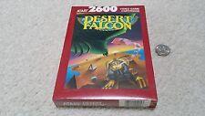 Atari 2600 Desert Falcon, CIB NEW SEALED shrinkwrapped