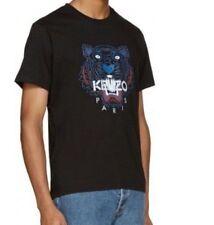 ORIGINALE 100% uomo Kenzo Tiger Print T-shirt Grande Nuovo Con Etichetta
