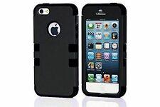 Housses et coques anti-chocs noir Pour iPhone 5 pour téléphone mobile et assistant personnel (PDA)