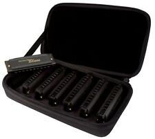 Hohner Piedmont Blues set of 7 Harmonicas with Case, PBH7