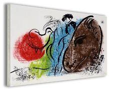 Quadri famosi moderni Marc Chagall vol III stampa su tela canvas arredo poster