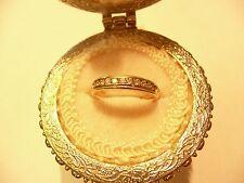 14K Gold Diamond .32 TCW Band L@@K