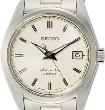 Seiko Mechanical SARB035 Wrist Watch for Men - Silver/Beige