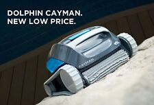 Dolphin Cayman Inground Robotic Pool Cleaner with Scrubbing Brush - Open Box Buy