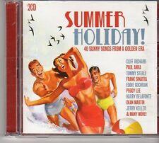 (FD292A) Summer Holiday, 40 tracks various artists - 2CDS - 2011