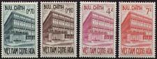 SOUTH VIETNAM 1962 Postal Checking Service Center 189-192 Công Thự Bưu Điện MNH