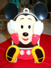 New listing Vintage Illco Mickey Mouse Peek-A-Boo Wind Up Preschool Toy Works