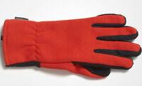 Handschuhe adidas® Climaheat Gloves, Fleece, warm, orange/ schwarz, Größe S