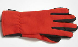Gloves Adidas Climaheat Gloves, Fleece, Warm, Orange/Black , SIZE S