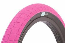 "SUNDAY BMX BIKE CURRENT TIRE PINK/BLACK 20 x 2.25"" PRIMO CULT ECLAT"