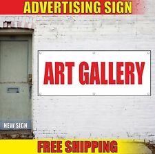 Art Gallery Banner Advertising Vinyl Sign Flag Open Salon Exhibition Show Open