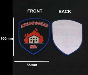 Western Australia Police Arson Squad Patch (social)