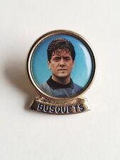 FC Barcelona Pin Badge Soccer Player Football Carles Busquets Collectible