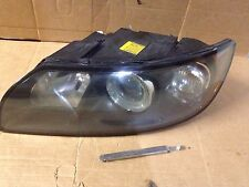Volvo V50 S40 Headlight & Lock Driver Side 2004 2005 2006 Clean OEM LH