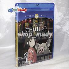 Spirit Away - El Viaje de Chihiro Blu-ray En Español Latino Región A, B, C New!
