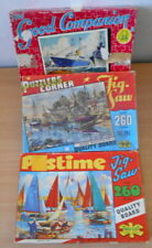 Jigsaw Puzzles. 3 Old Puzzles. `vintage type.