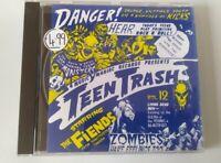 CD Garage Fiends Teen Trash Vol 12 Music Maniac Presents 1994 Rock N Roll