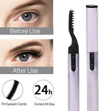 Heated Eyelash Curler Electronic Curling Comb Quick Heating Long Lasting Makeup